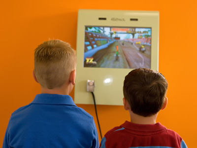 Playing Games - Pediatric Dentist in Baton Rouge, LA