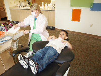 Cleaning Time - Pediatric Dentist in Baton Rouge, LA