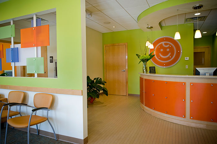 Waiting room and front desk - Pediatric Dentist in Baton Rouge, LA